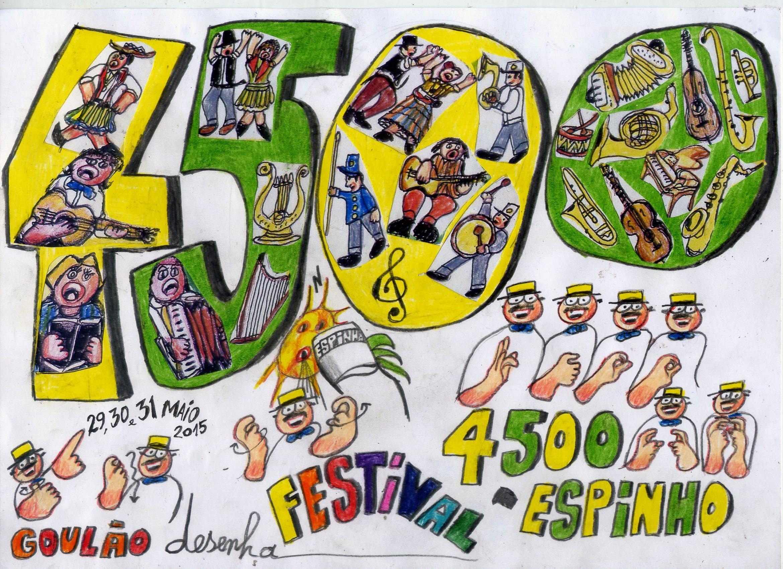 GOULÃO desenha FESTIVAL 4500-ESPINHO