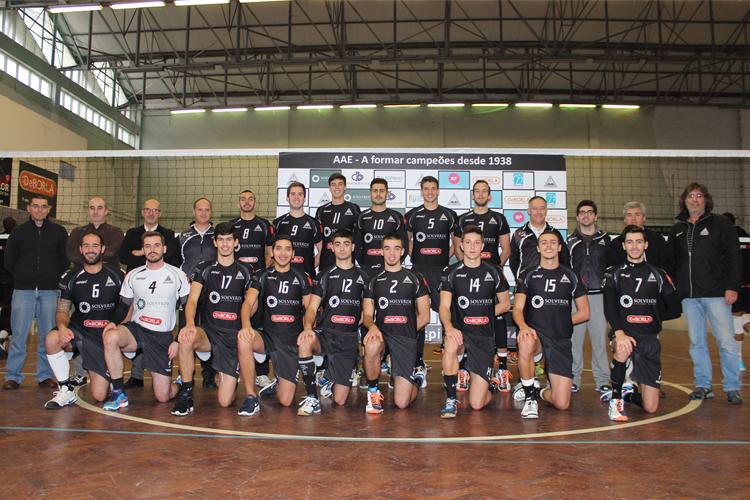 Voleibol AAE: Académica perde frente ao VC Viana