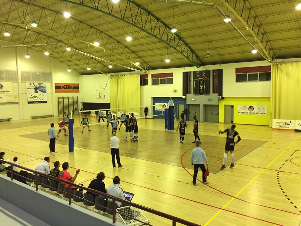 Voleibol: Tigres venceram em Viana