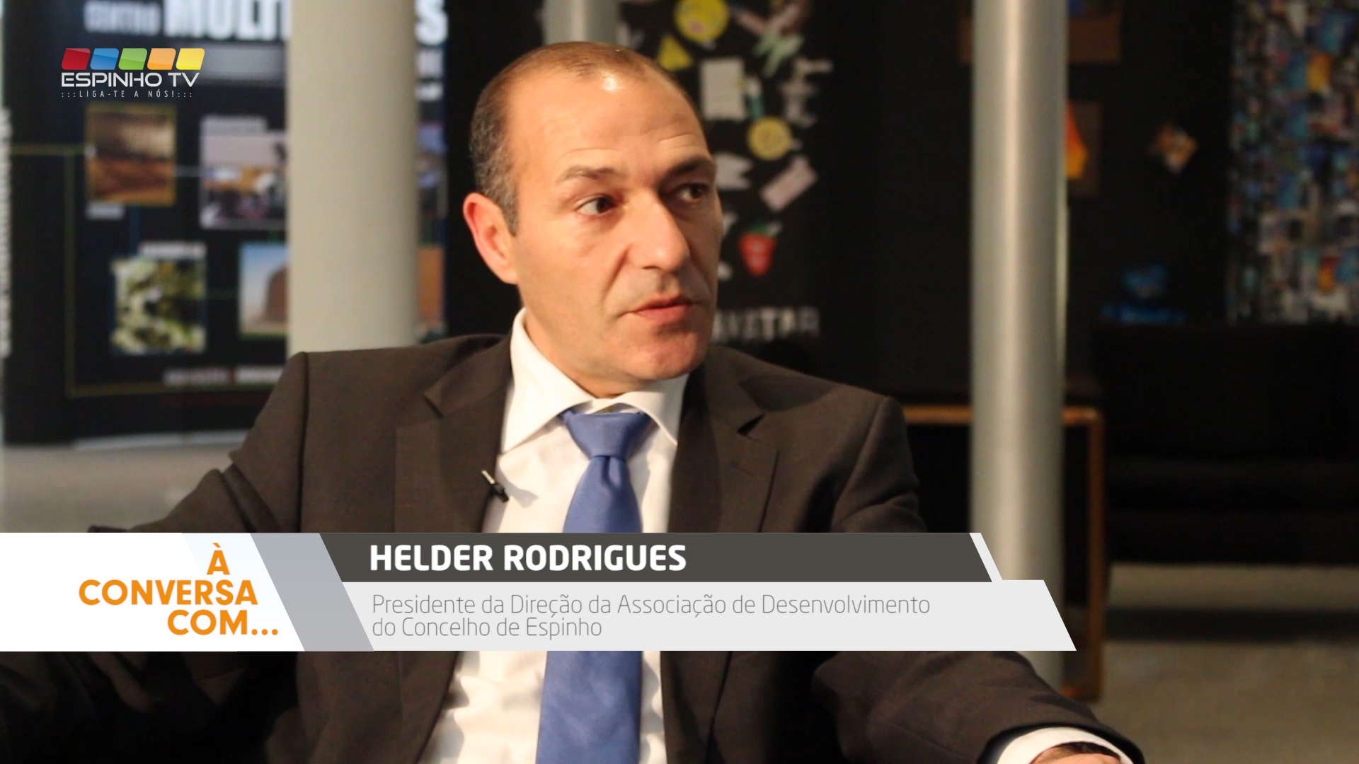 """Programa: """"À Conversa Com…"""" Helder Rodrigues"""