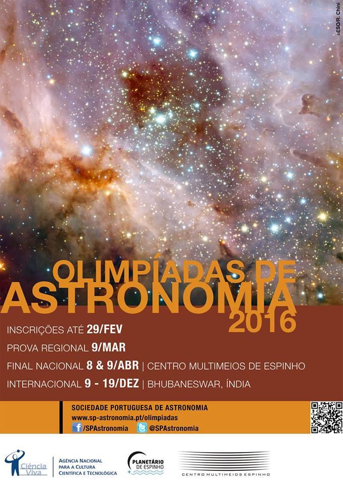 Olimpíadas de Astronomia 2016