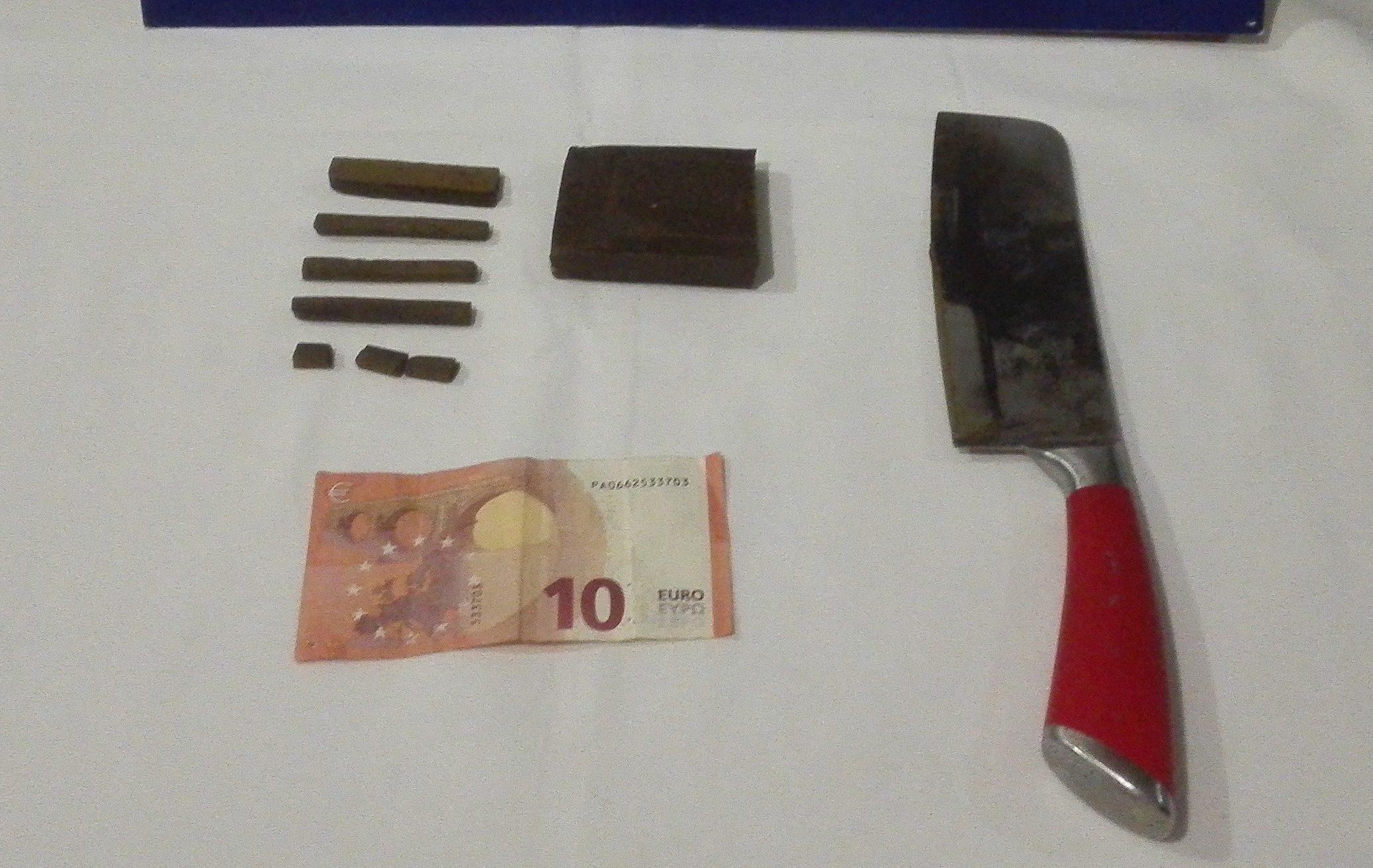 Homem detido por suspeita de tráfico de estupefacientes