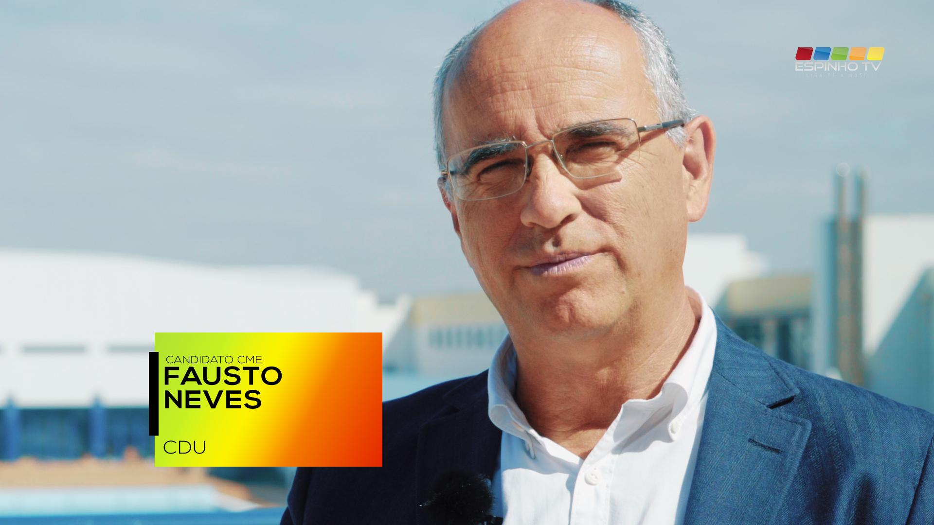 EspinhoTV: Especial Eleições Autárquicas'17 – Fausto Neves – CDU