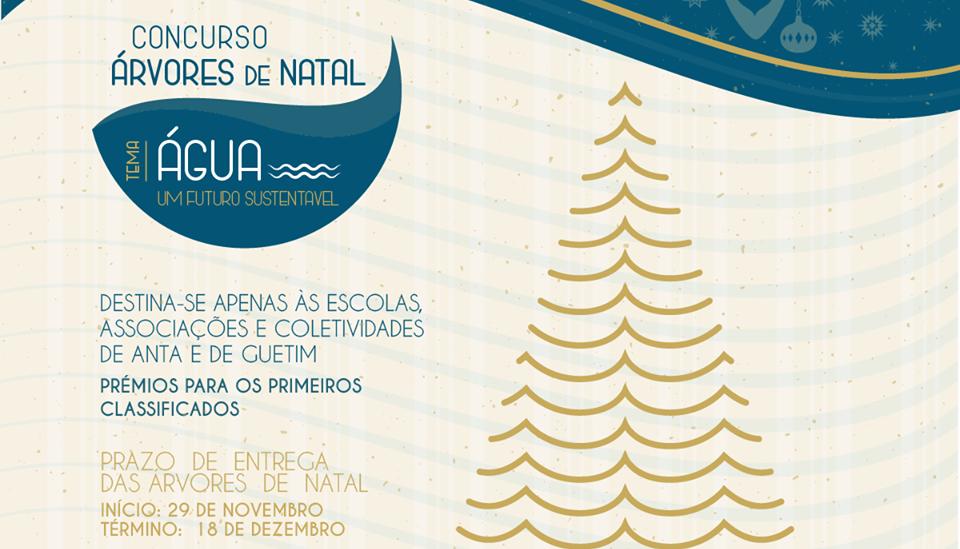 J.F. Anta e Guetim organiza Concurso «Árvores de Natal»