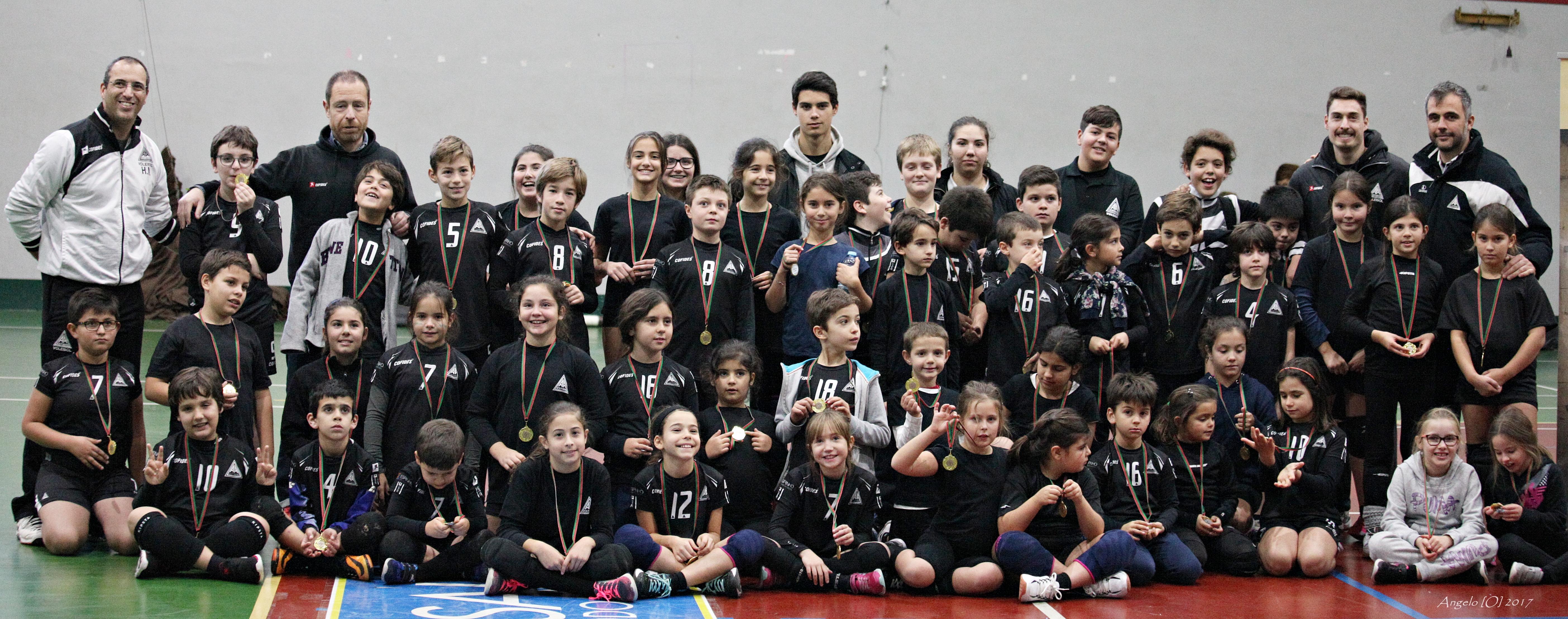 Voleibol: Resultados dos escalões de formação da AAE