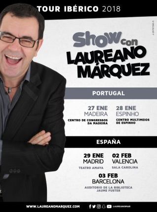 Show com Laureano Márquez no Multimeios