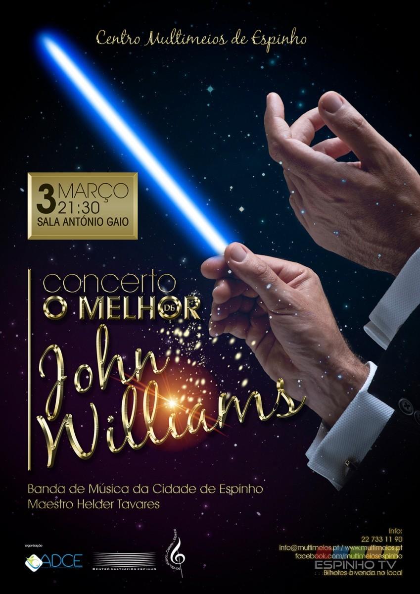 """Concerto """"O Melhor de John Williams"""""""
