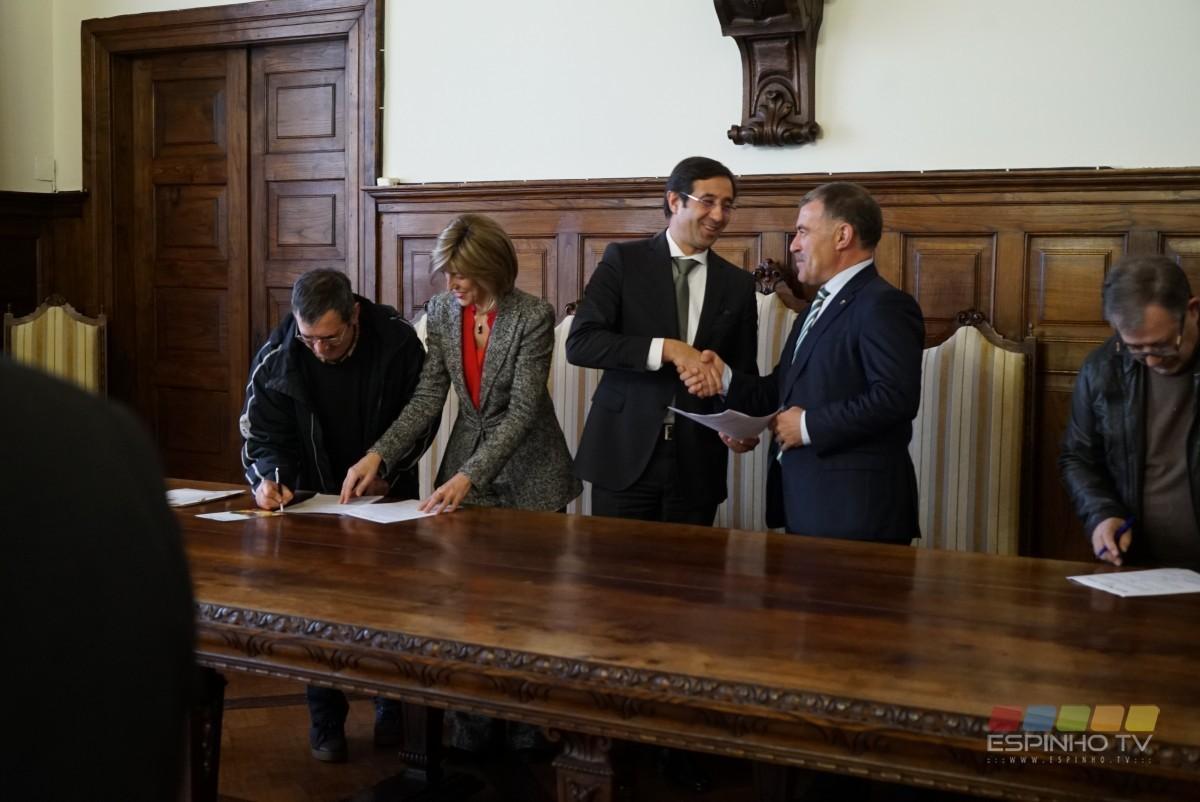 Projeto PROVE com protocolo assinado