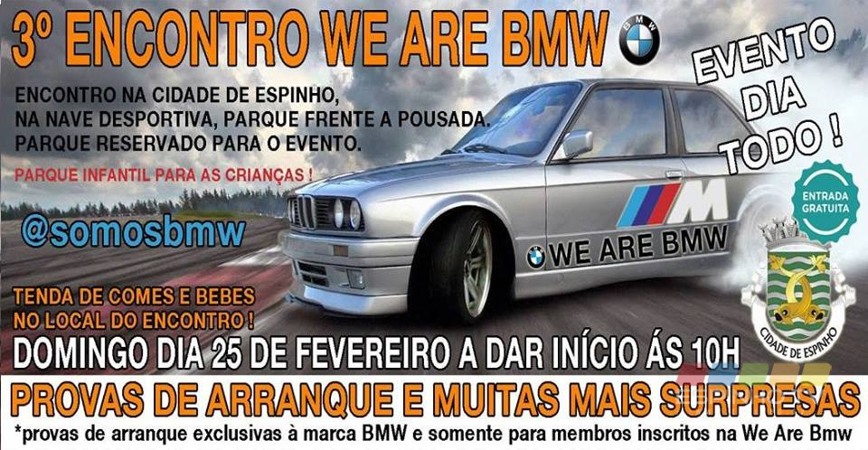 3º Encontro WE ARE BMW