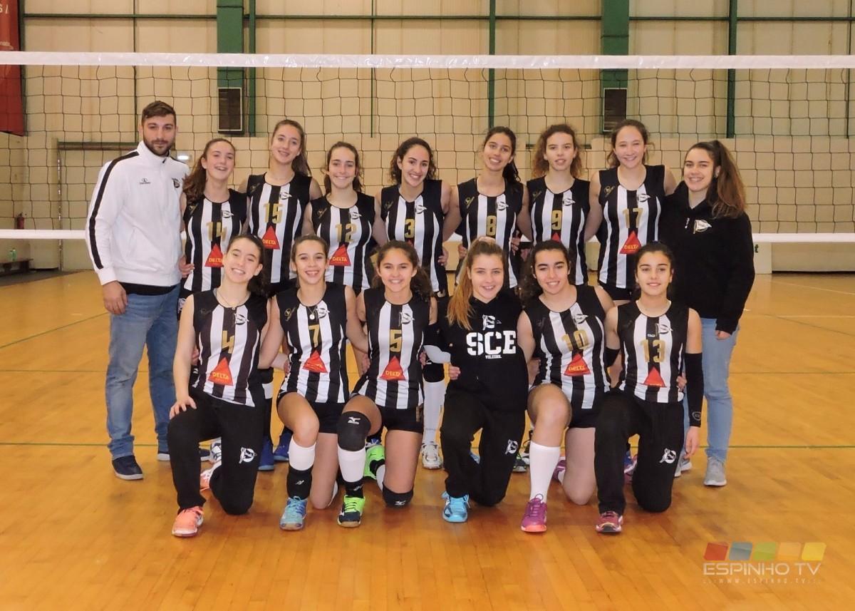 Voleibol: Iniciadas tigres continuam na luta pelo regional