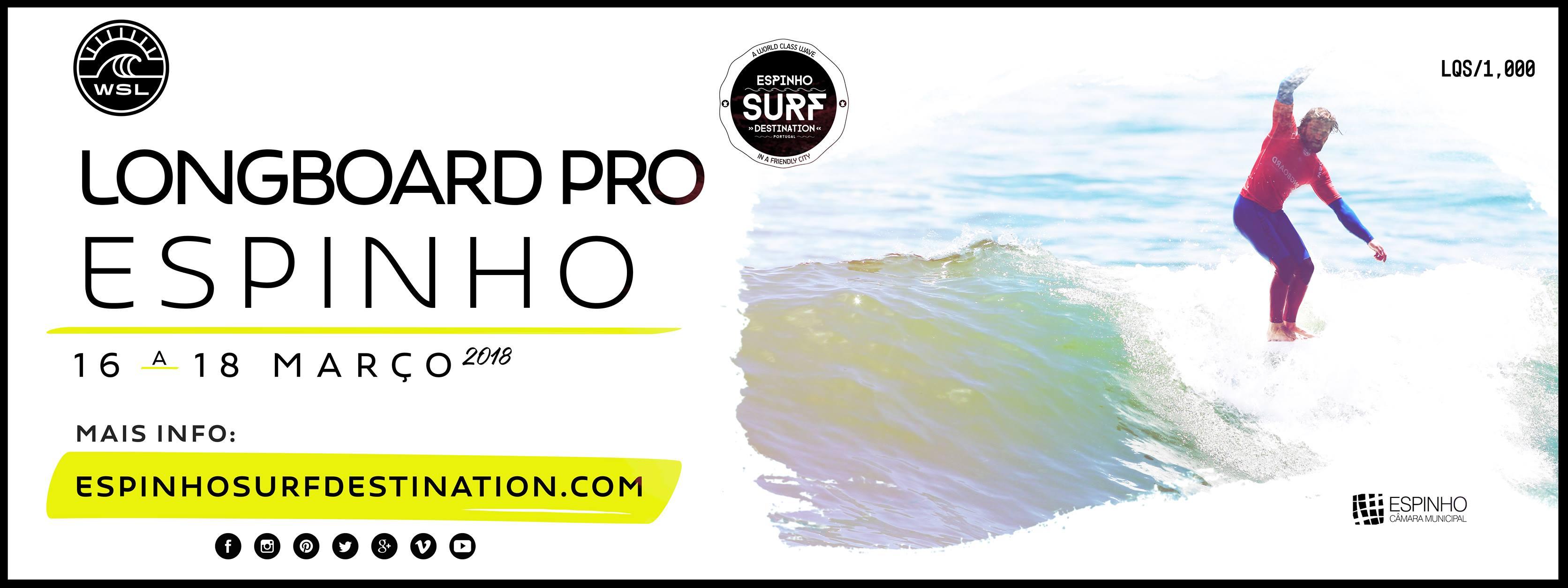 Longboard Pro Espinho :: Surf Pro Espinho 2018