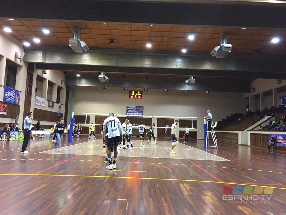 Voleibol SCE: Missão cumprida frente ao AJ Fonte Bastardo