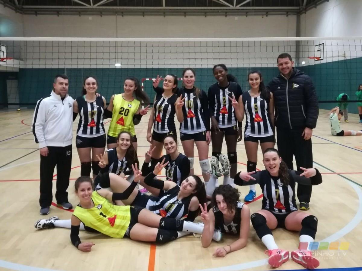 Voleibol: Seniores Femininas do SC Espinho seguem invictas no Nacional
