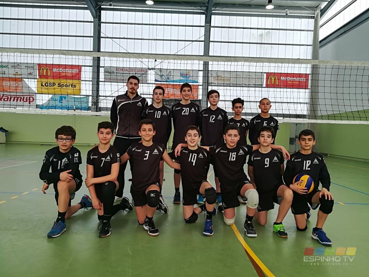 Voleibol: Resultados da formação da AA de Espinho