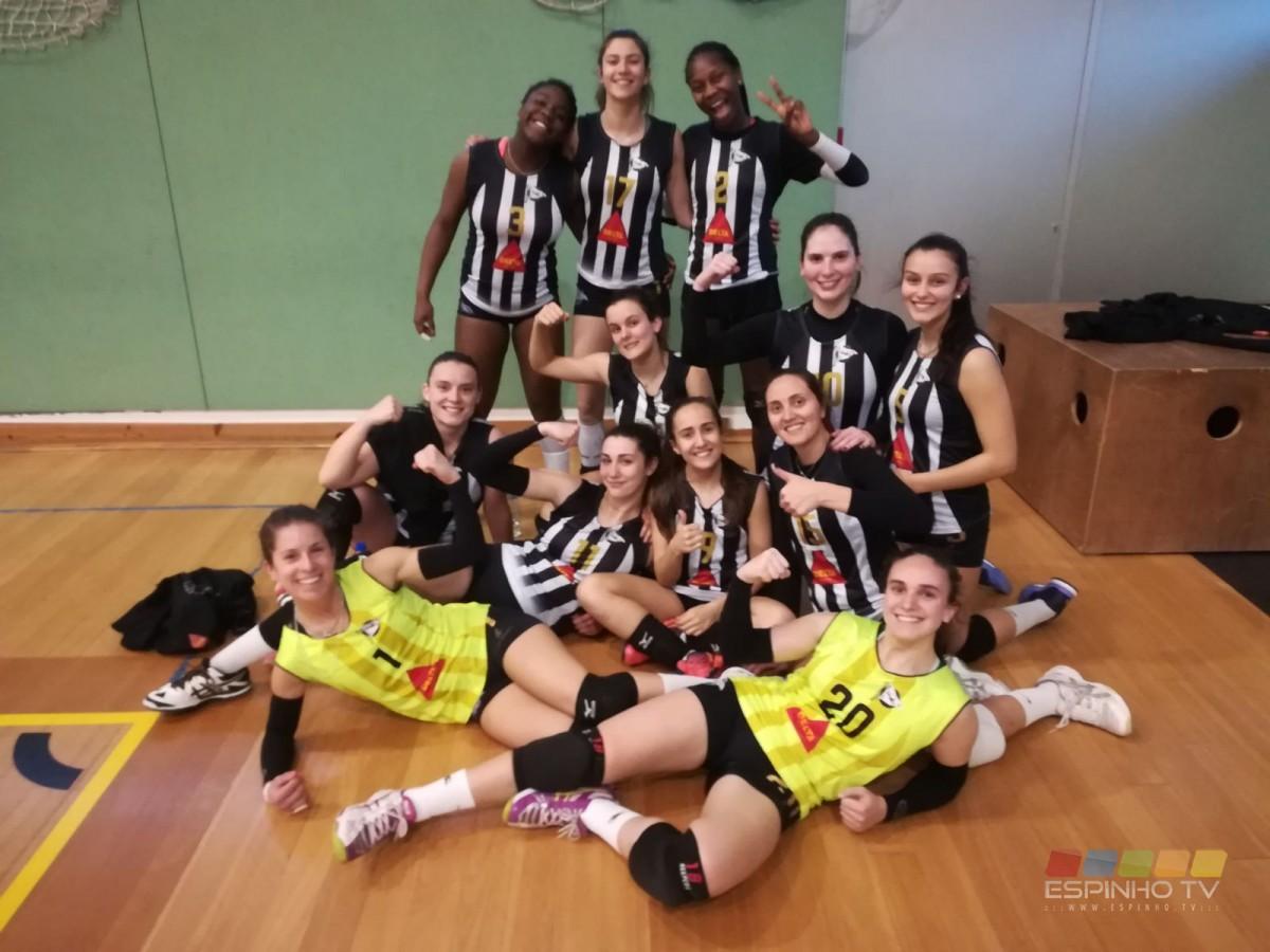 Voleibol: Seniores femininas do SCE na luta pelo título