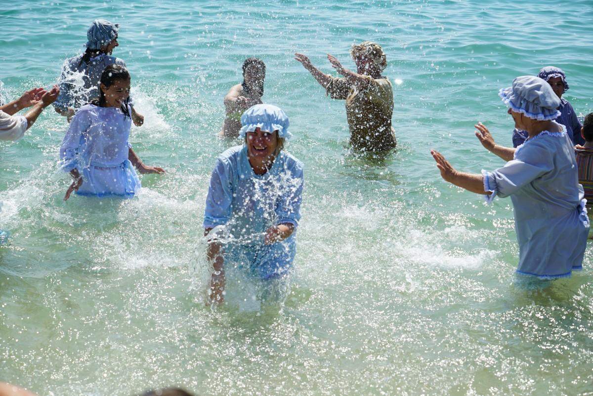 Vir a Banhos Regressou à Praia da Baía
