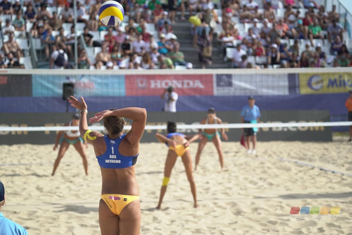 Voleibol de Praia: Espinho Open regressa em 2019 às areias da cidade