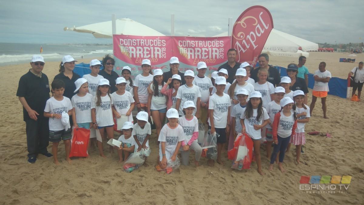 JF Espinho organizou concurso de Construções na Areia
