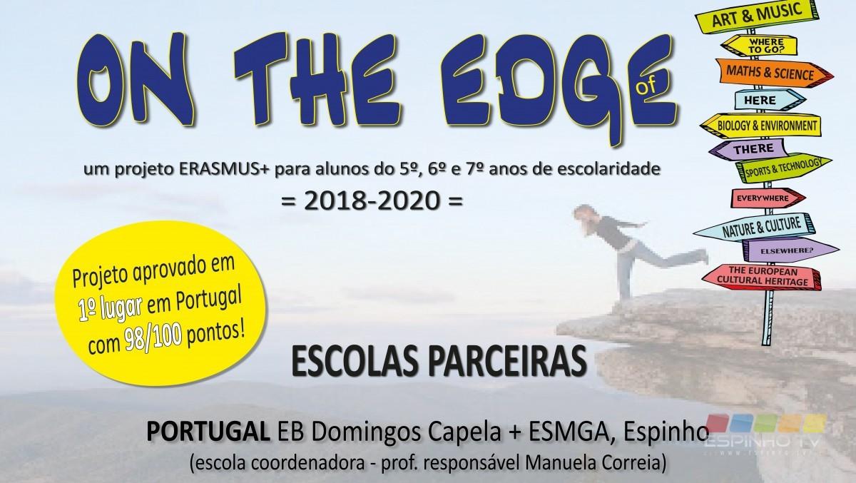 Agrupamento Gomes de Almeida abre ano escolar  com projeto Erasmus+ para alunos dos 10 aos 13 anos