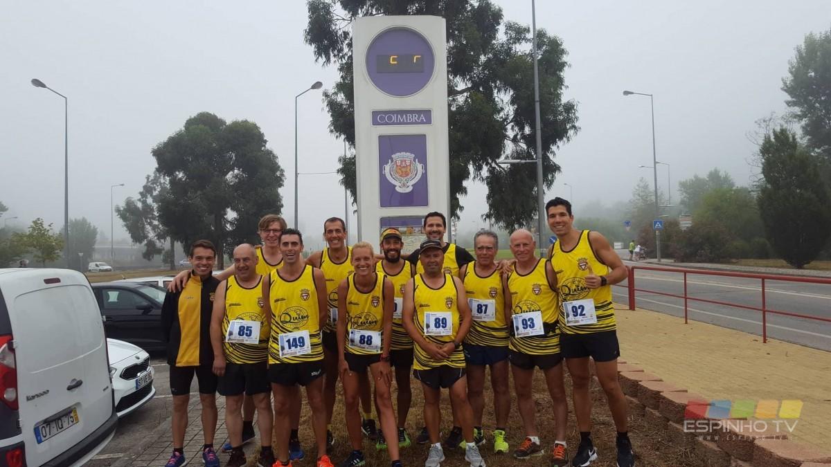 Atletismo do Rio Lrgo na 4ª Eco Meia Maratona de Coimbra