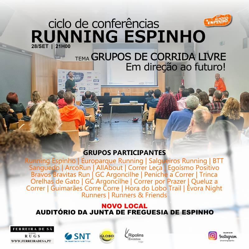 Ciclo de Conferências – Running Espinho
