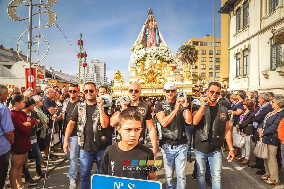 Festa Srª d'Ajuda'18: Procissão e espetáculo piro-musical foram os pontos altos das festividades