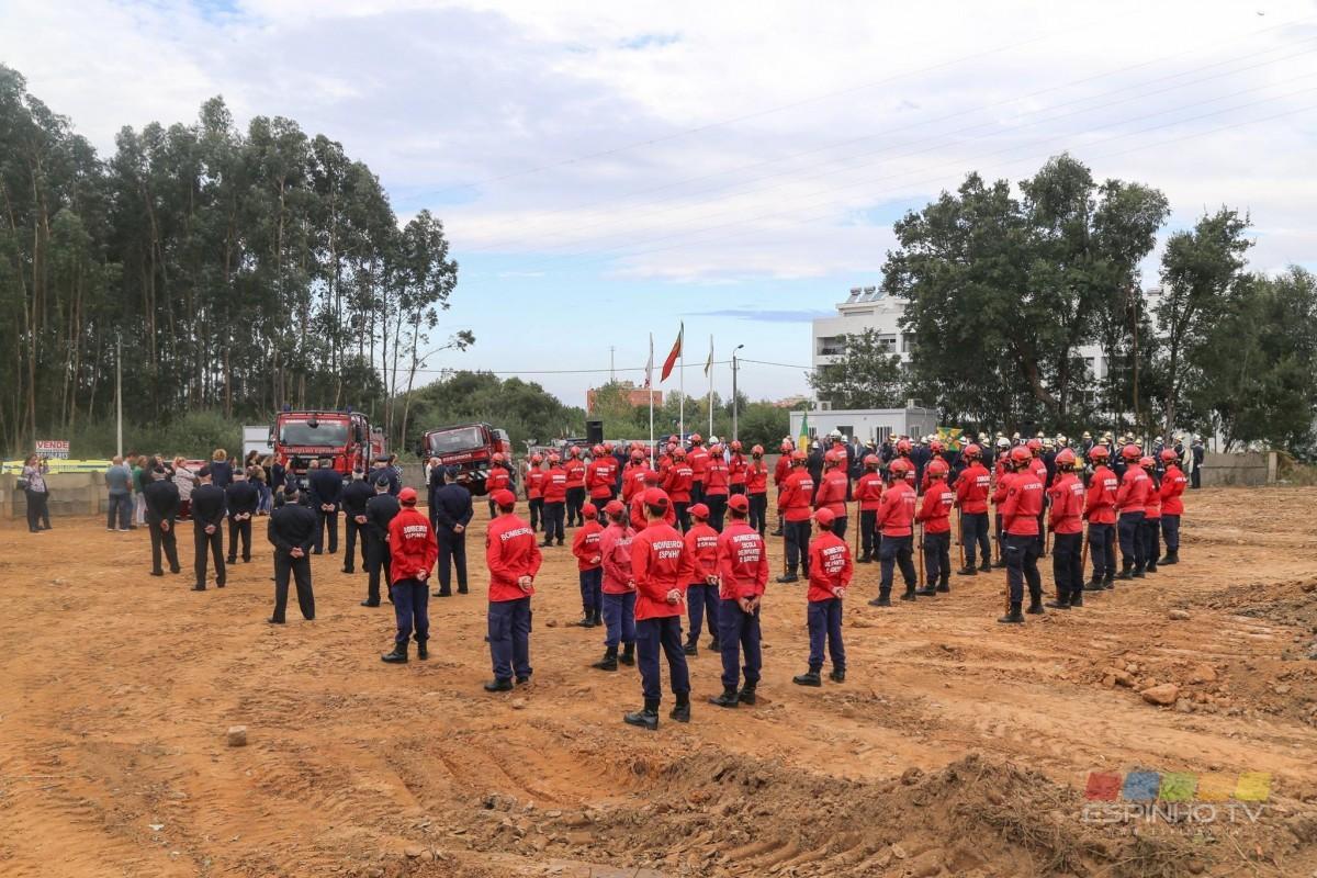 Novo quartel dos Bombeiros Voluntários do Concelho de Espinho