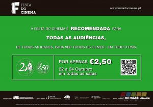Festa do Cinema: Por 2.5€ vá ao cinema no Centro Multimeios