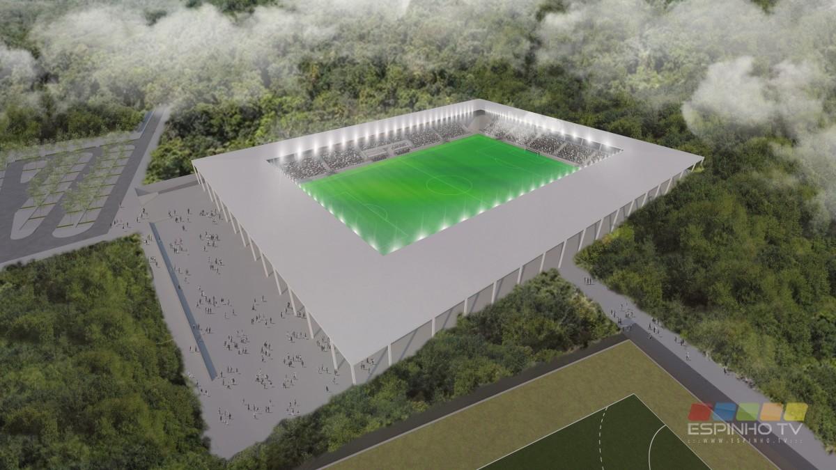 Vai a reunião o lançamento do concurso para a construção do Estádio Municipal