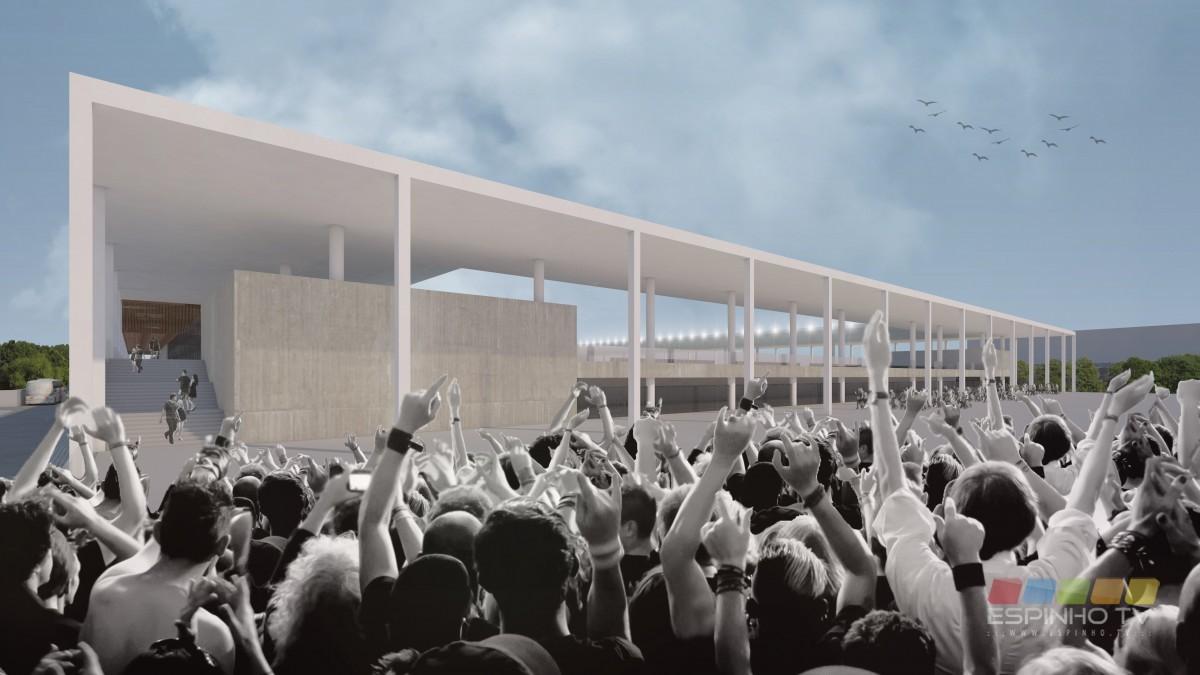 Estádio Municipal aprovado em reunião de Câmara (projeto e financiamento)