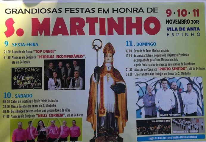 Festa S. Martinho – Anta 2018