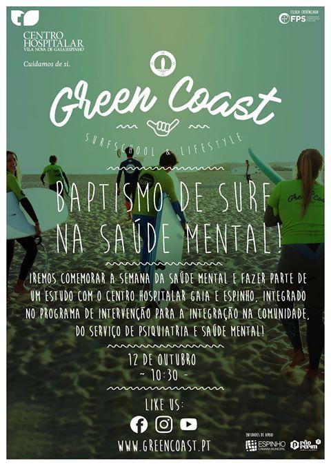 Batismo de surf na Saúde Mental