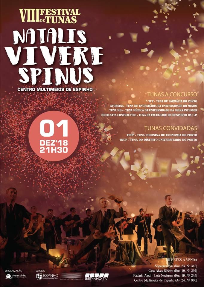 Festival de Tunas – VIII Natalis Vivere Spinus 2018