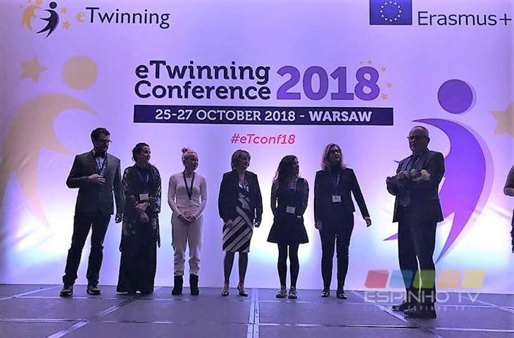 Projeto do AEMGA recebe prémio na Conferência Anual eTwinning em Varsóvia