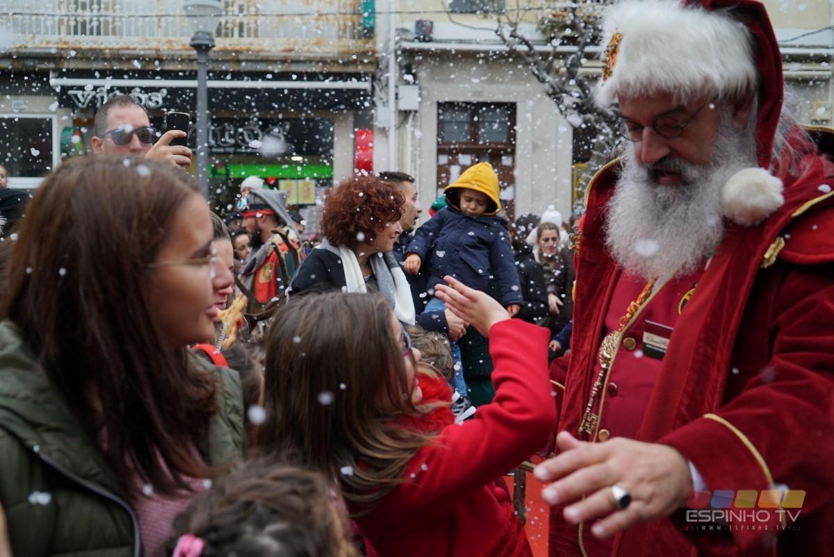 O Pai Natal já chegou a Espinho