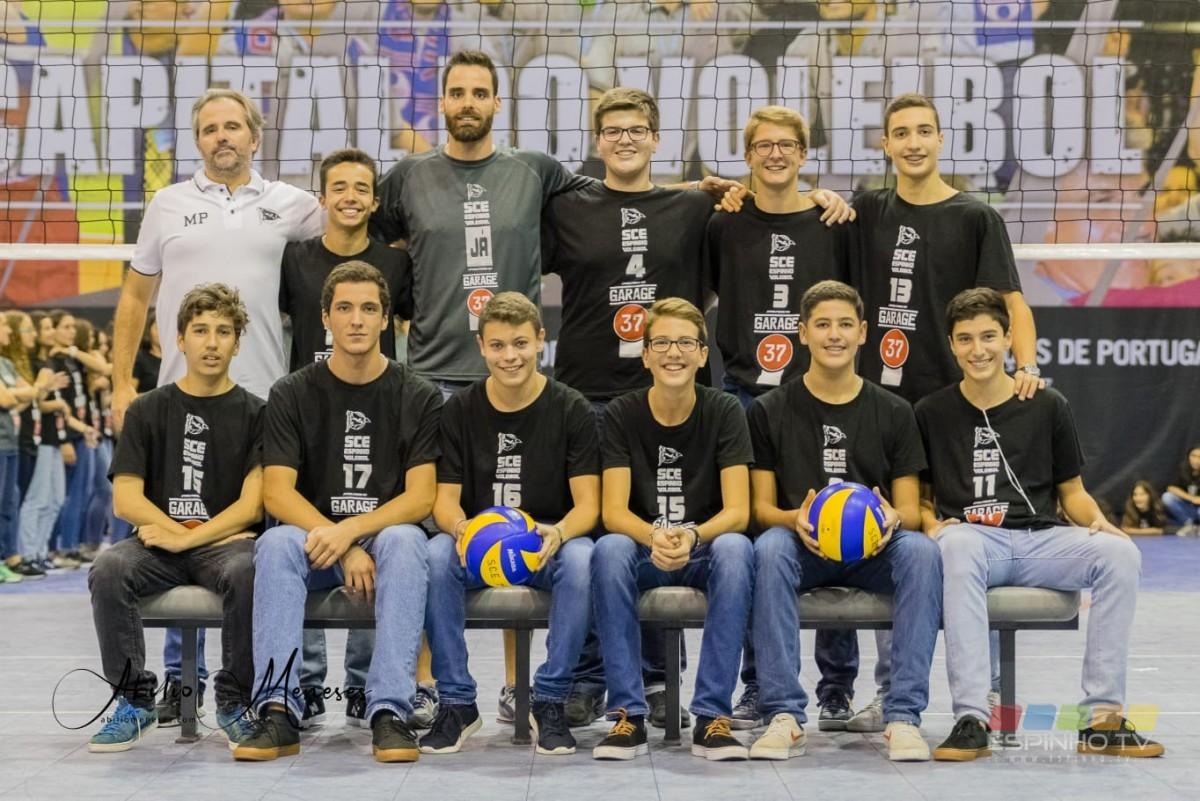 Voleibol Formação: Fim de semana vitorioso para o Sporting Clube de Espinho!