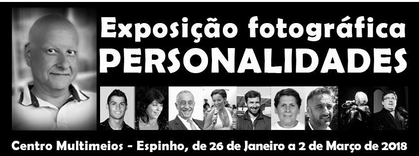 """Exposição Fotografica – """"Personalidades"""" – de Domingos Santos"""