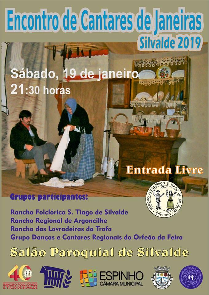 Encontro de Cantares de Janeiras / Silvalde 2019