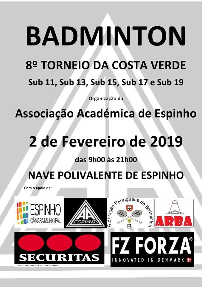 8º Torneio de Badminton da Costa Verde