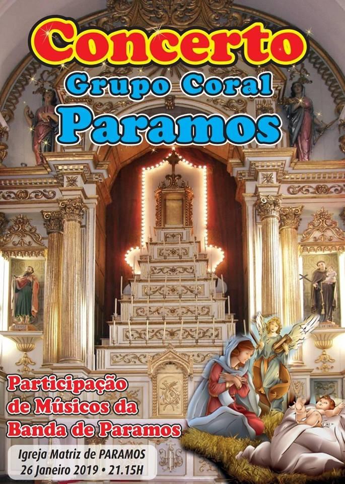 Concerto Grupo Coral de Paramos