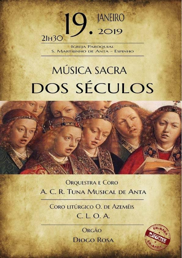 Música Sacra dos Séculos – Tuna Musical de Anta