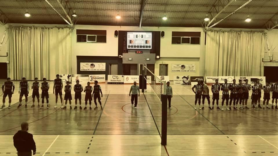 Voleibol: Tigres vencem em Viana