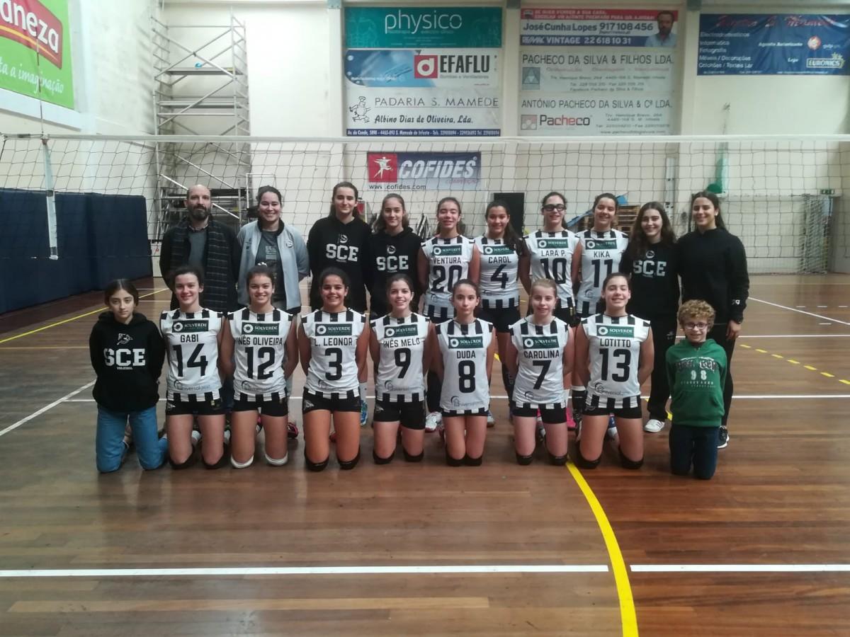 Voleibol: Novas Campeãs Tigres no escalão de Infantis