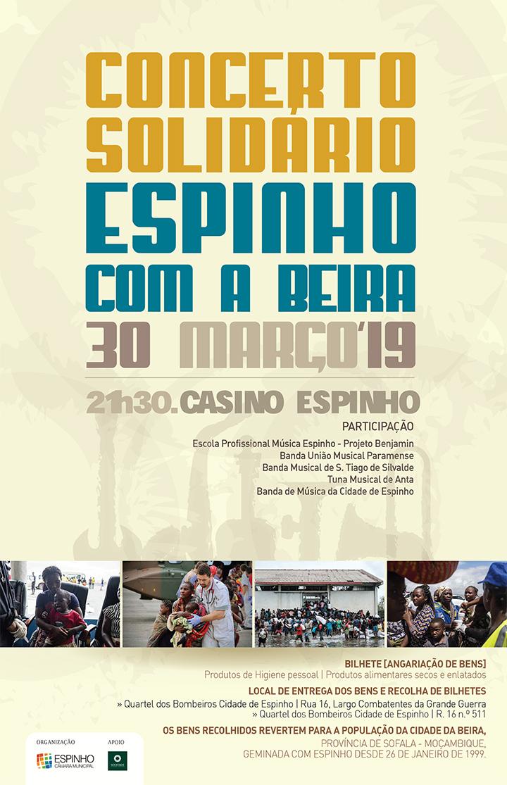 """Concerto Solidário """"Espinho com a Beira"""""""