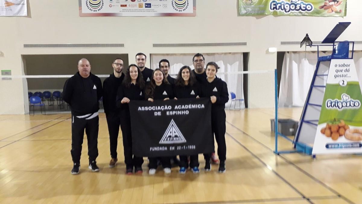 Badminton: Académica alcança o pódio