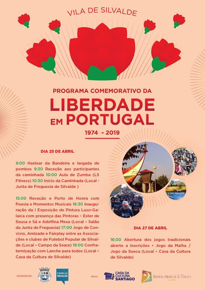 Comemorações do 25 Abril em Silvalde
