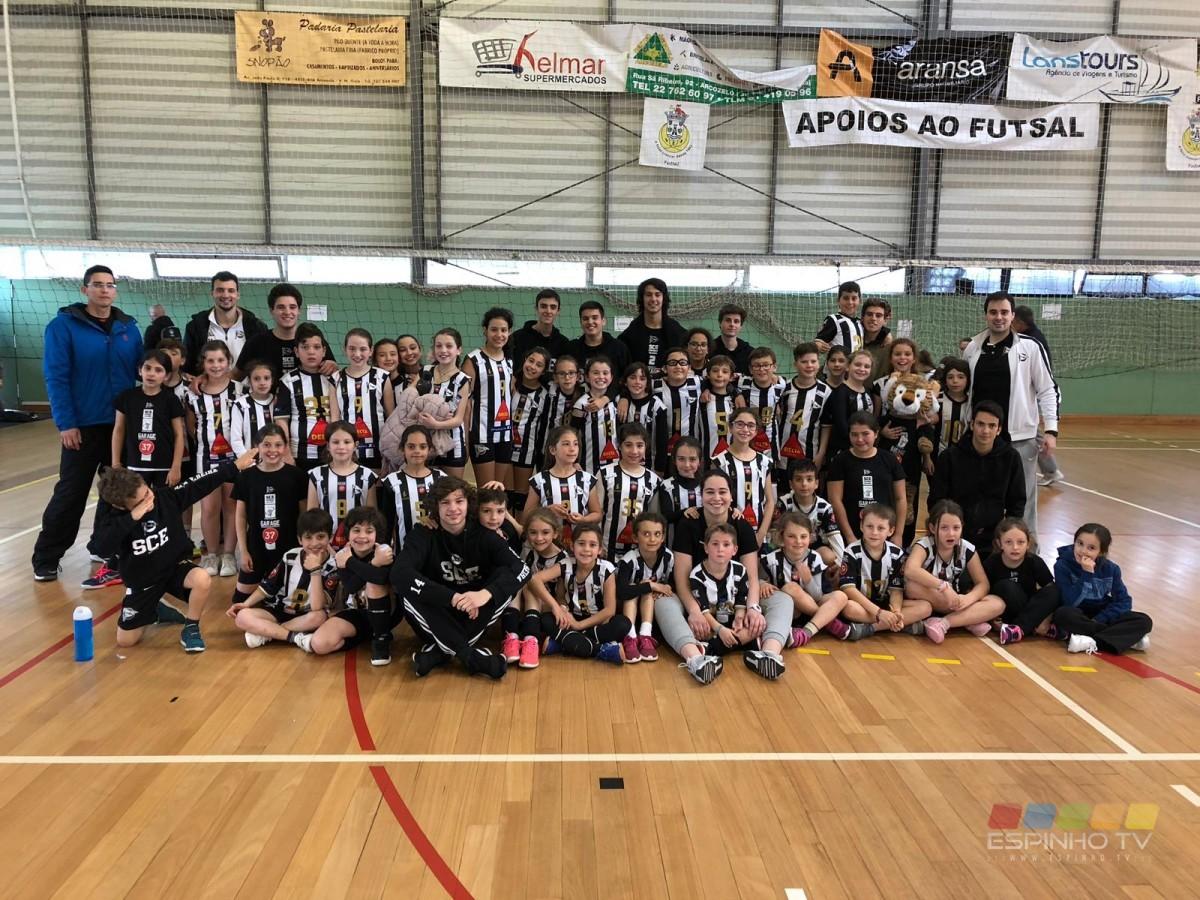 Voleibol SCE: Minis A Campeões do Torneio da Páscoa!