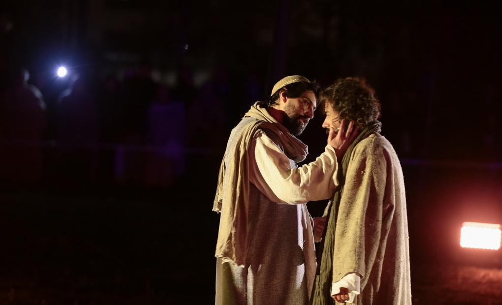 Semana Santa'19: Recriação do Getsémani e Julgamento de Jesus no Sinédrio