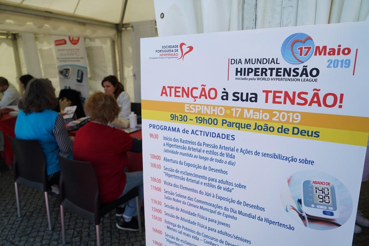 Espinho foi a capital das comemorações do Dia Mundial da Hipertensão