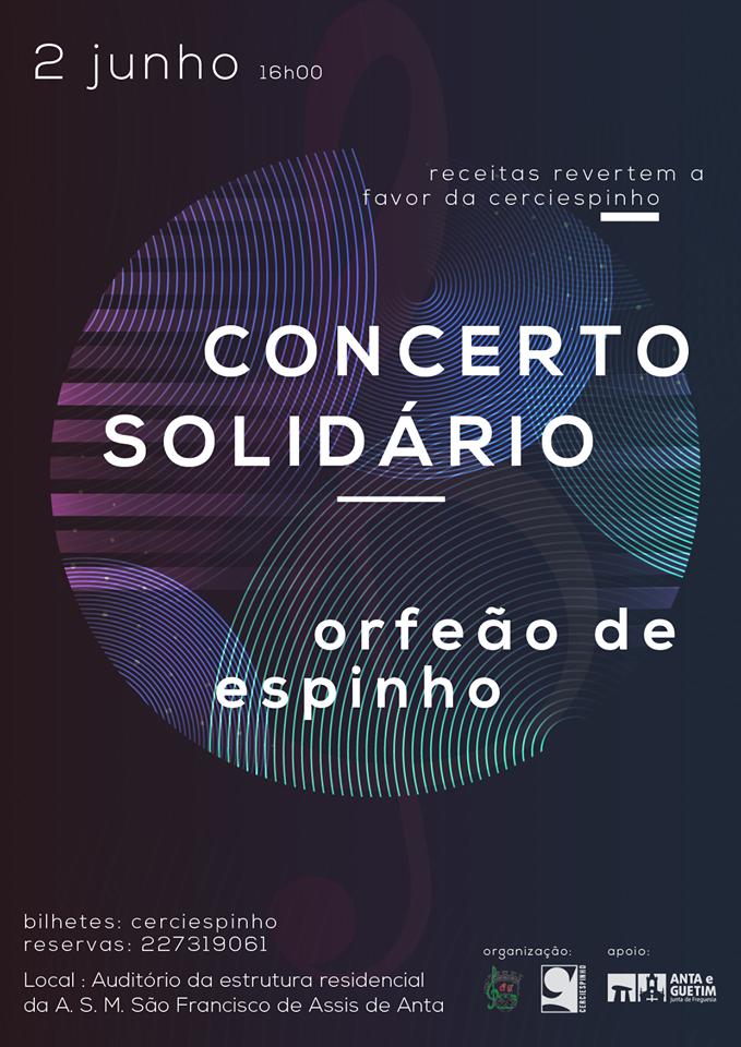 Concerto Solidário do Orfeão de Espinho